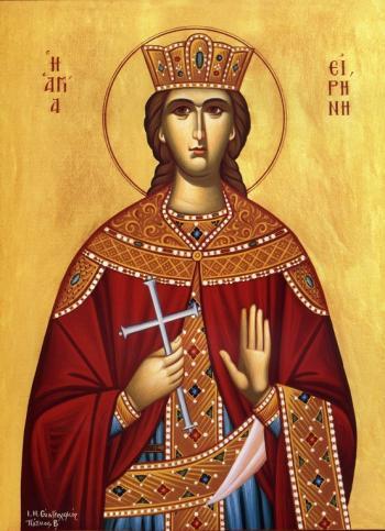 Calea spre sfințenie – Mucenița Irina